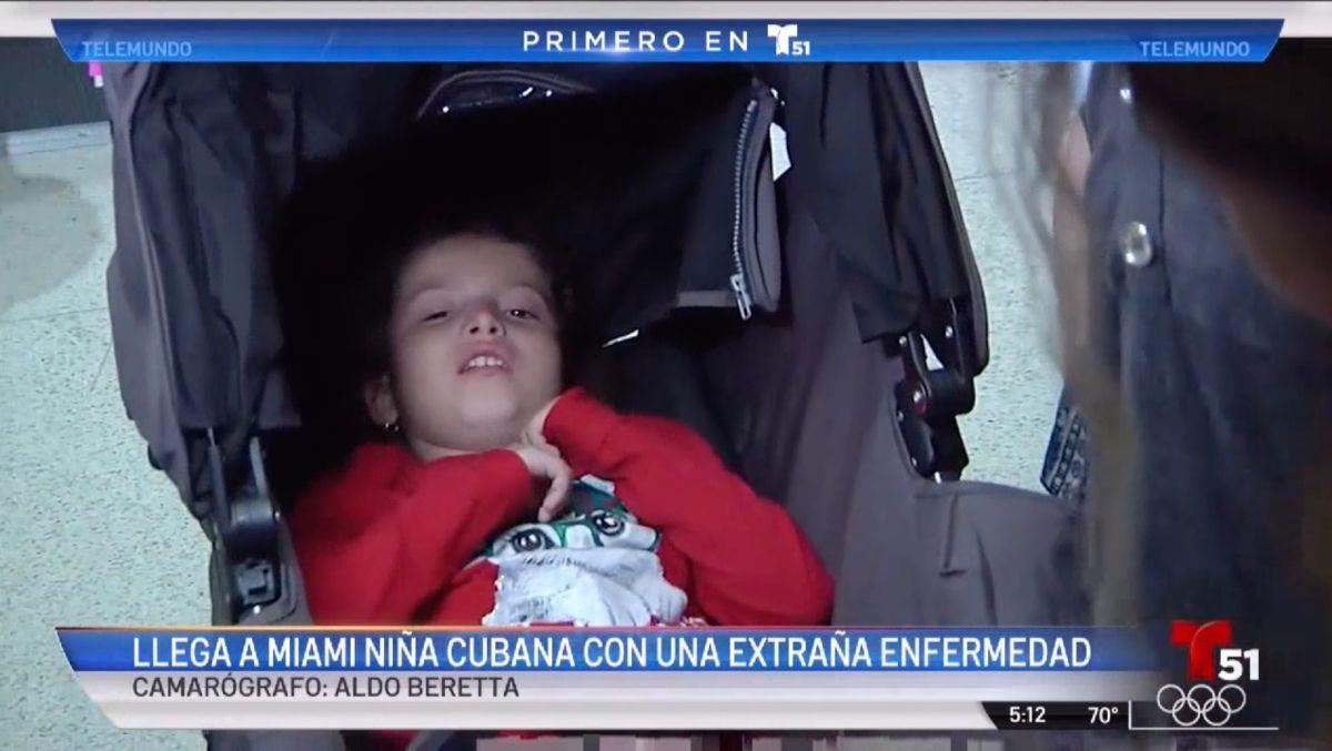 Llega a Miami una niña latina que será tratada por una extraña enfermedad