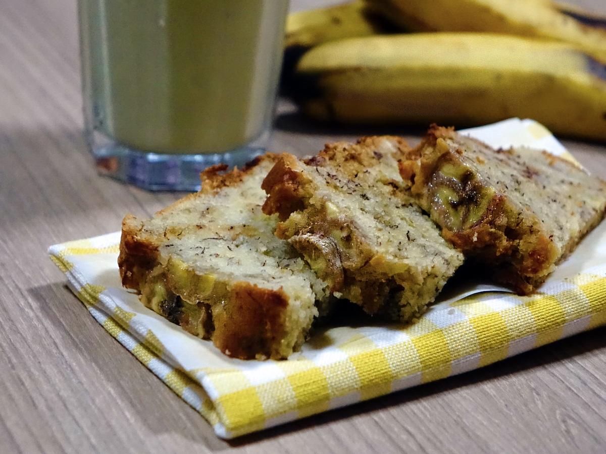 Postre para diabéticos: Budín de banana y almendra