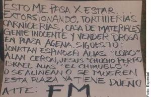 Dejan cadáver desmembrado con narcomensaje en el Estado de México