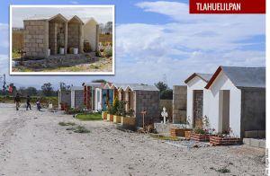 Construyen mausoleos en zona de explosión de Tlahuelilpan a pesar de estar prohibido
