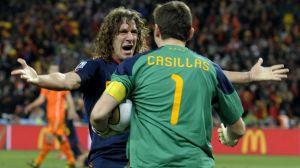 Amigos y rivales: las fotos de Puyol y Casillas juntos que dan mucho de qué hablar