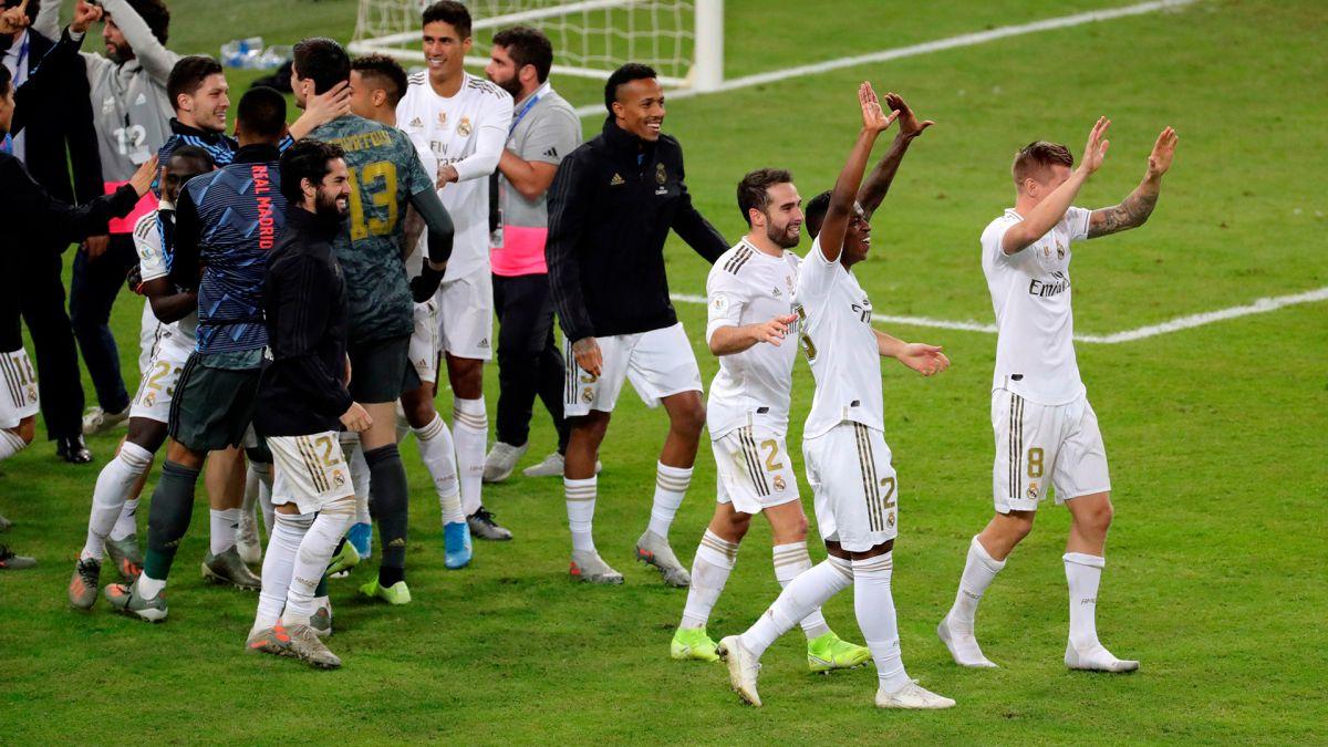 Real Madrid vence en penaltis al Atlético y se lleva la Supercopa