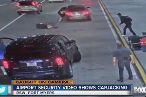 Roban un automóvil en Florida con una madre y su hijo en el interior