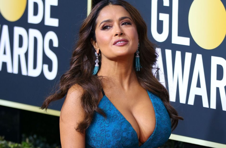 Los 5 looks Gucci de Salma Hayek más impactantes