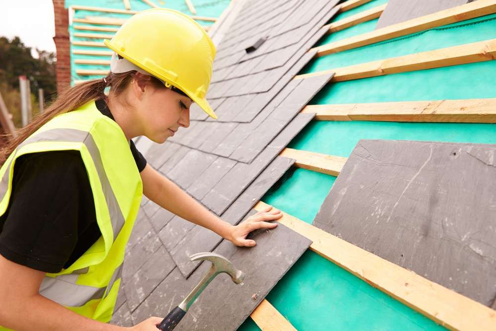En el sector de la construcción solo el 33% de los trabajos los hacen mujeres./Archivo