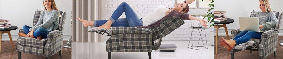 Los 4 mejores sillones reclinables por menos de $150 para personas mayores ver TV y descansar