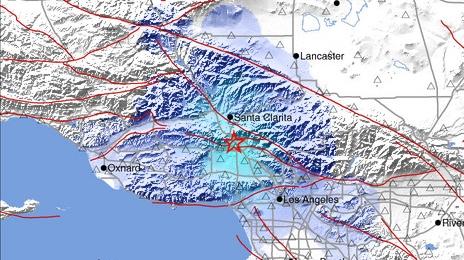 Estremece a Los Ángeles un sismo de magnitud 3.6