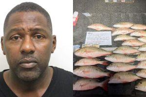 Arrestan a un funcionario de Florida por pescar peces más pequeños de lo reglamentado