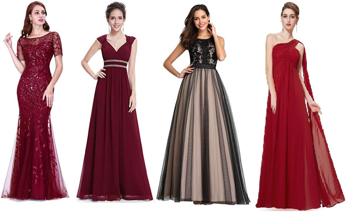 5 estilos de vestidos elegantes para la mamá de la quinceañera usar en la fiesta por menos de $75