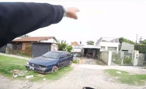 Youtuber graba persecución y captura del delincuente que le robó la moto en Argentina