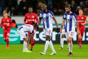 'Tecatito' fue titular en la derrota del Porto ante el Leverkusen