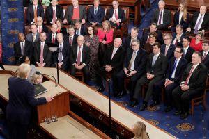 Trump presume de sus logros económicos en el discurso del Estado de La Unión