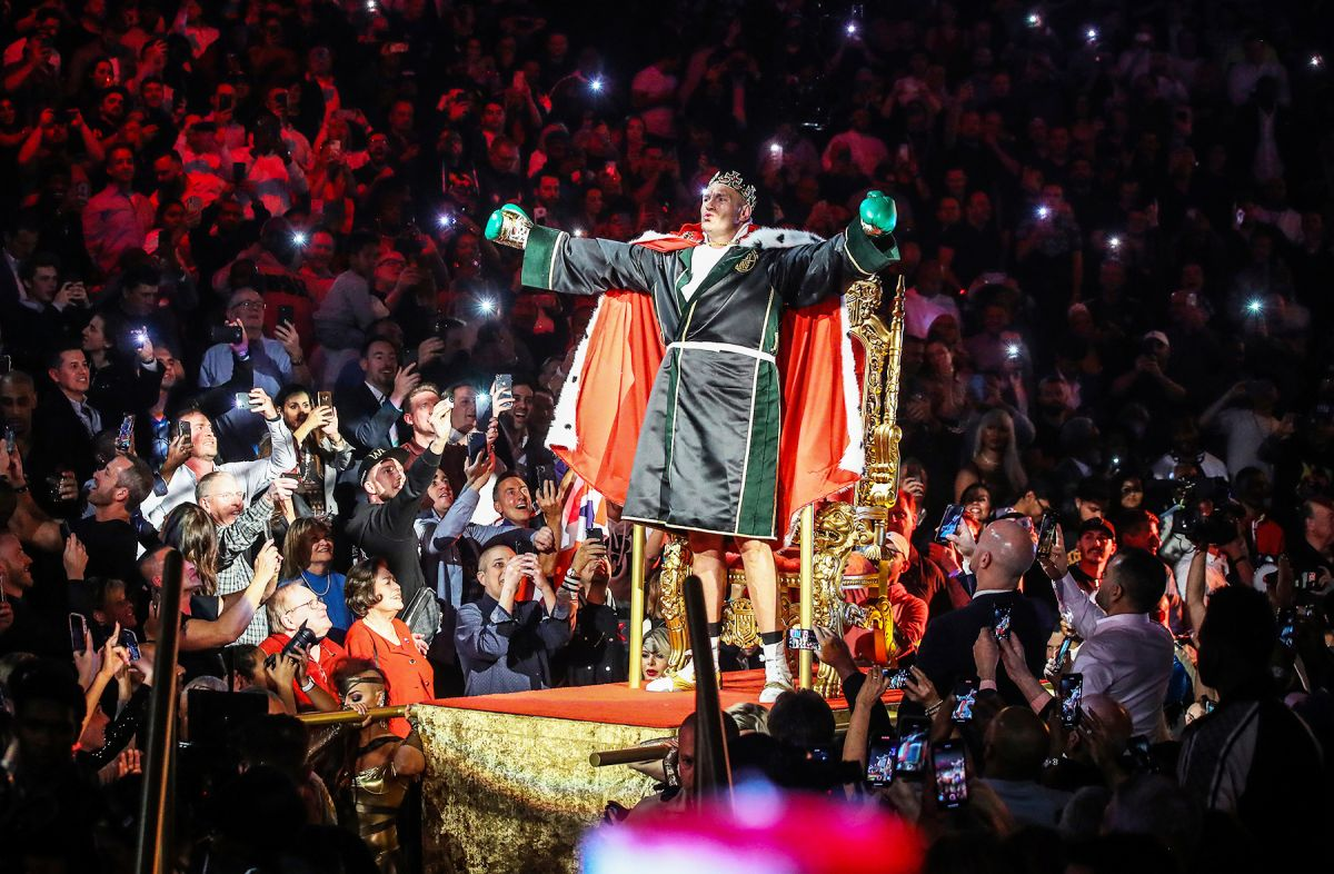 Fury apuesta $20 millones de dólares en un combate a puño limpio contra Joshua.