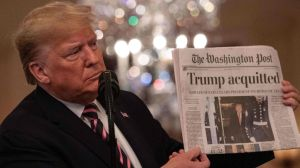 Por qué esta ha sido una de las mejores semanas para Donald Trump desde que llegó a la Casa Blanca