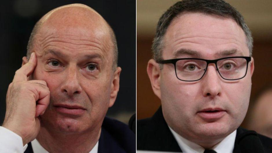 La polémica por el despido de dos testigos clave que declararon contra Trump en el juicio político