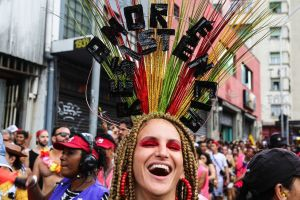 Carnaval de Sao Paulo en fotos: cómo las protestas y la política se han tomado la fiesta