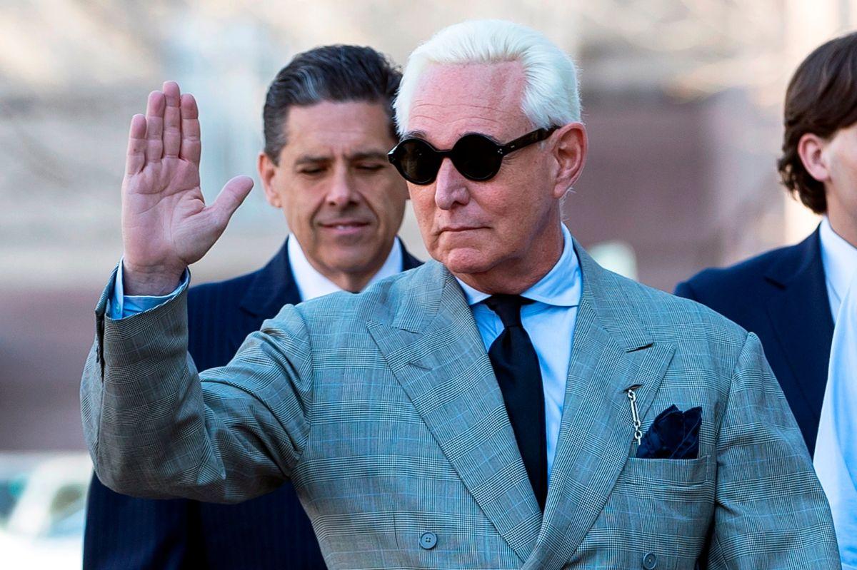 Stone está acusado de obstruir al Congreso durante la investigación sobre la injerencia rusa.