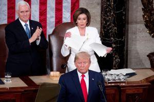 """Trump """"es una tragedia nacional"""": congresista de NJ al retirarse del discurso del Estado de la Unión"""