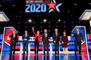 Candidatos del debate demócrata encuentran un punto de acuerdo sobre el escenario