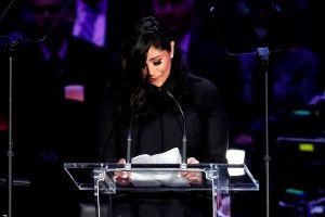 Intenta no llorar: El emotivo discurso de Vanessa Bryant sobre Gianna y Kobe en su homenaje en el Staples Center