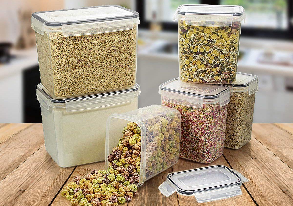 Los 5 mejores sets de contenedores de alimentos para ahorrar espacio en la cocina
