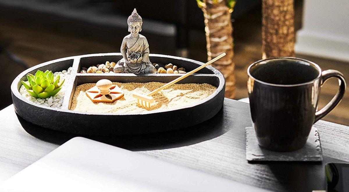 4 jardines Zen que puedes tener en tu oficina para traer la calma en momentos de tensión