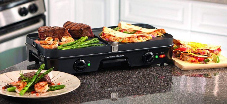 6 planchas eléctricas para cocinar rico, rápido y fácil por menos de $60