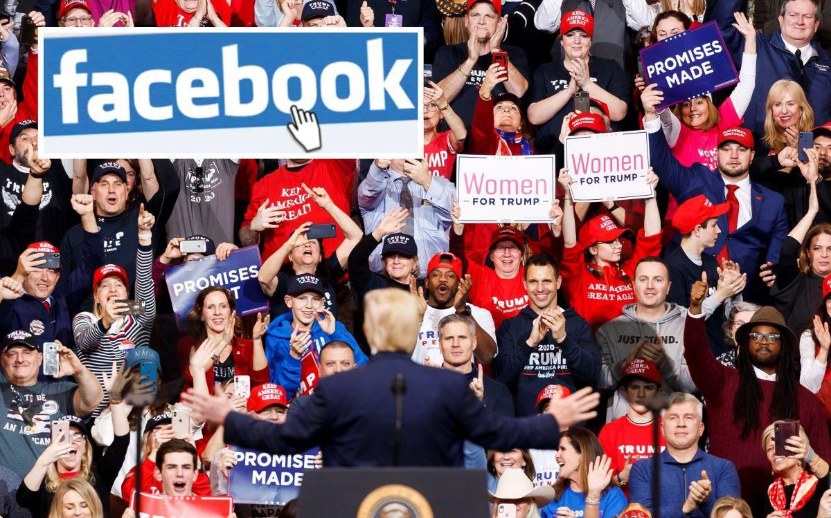 La millonaria cifra que Trump paga a Facebook para arremeter contra inmigrantes y promocionarse