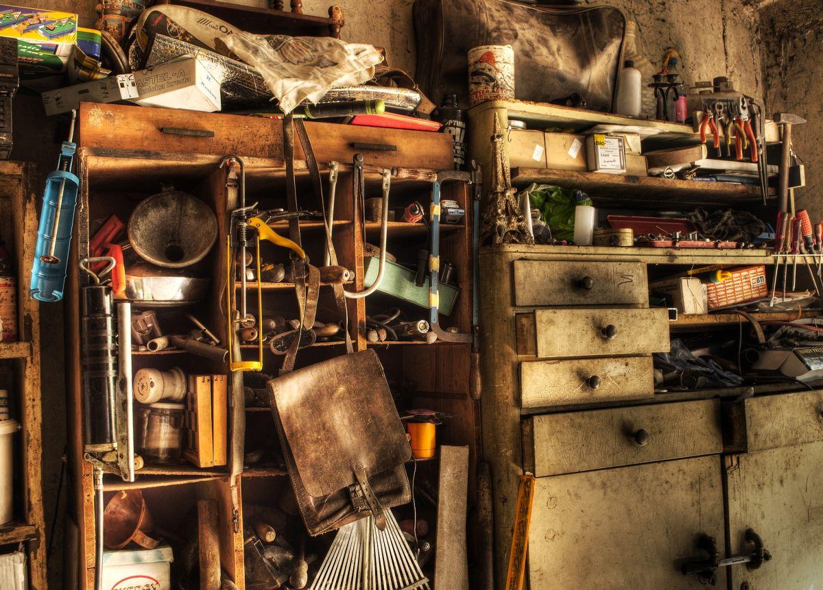 Los acumuladores guardan muchos objetos por diversas razones, ninguna muy lógica.
