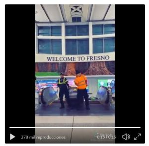 VIDEO: Despiden a trabajadores de aeropuerto de California, luego de volverse virales con un video divertidísimo