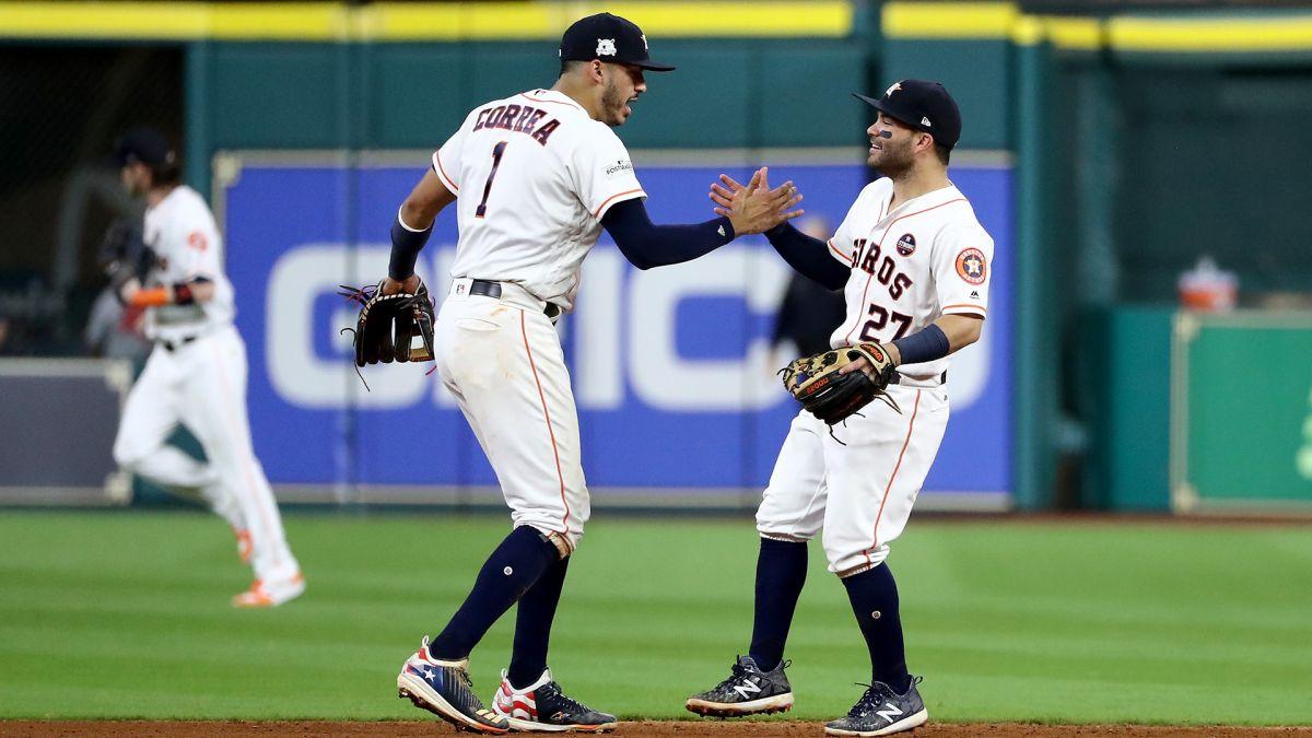 Astros se impuso a Yankees en la serie de campeonato.