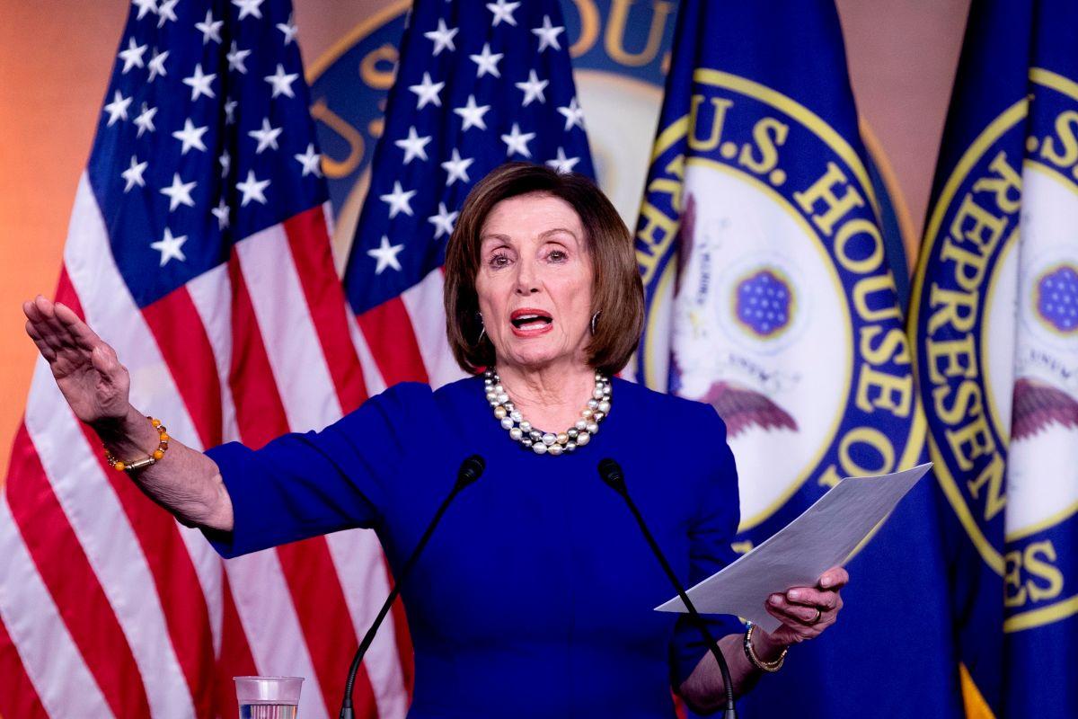 Pelosi acusa a Trump de convertir el Congreso en un 'reality show'. ¿A qué se refiere?