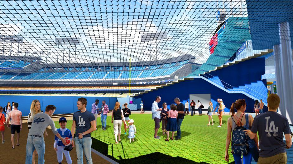 ¡Cada vez más chulo! Dodgers presentan novedades en su estadio mediante simulación animada
