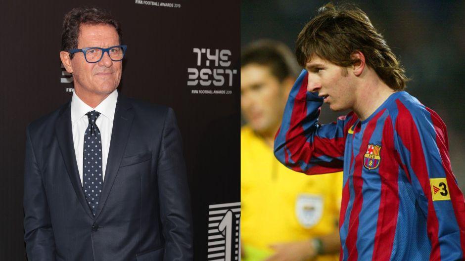 Capello se enamoró de Messi en 2005 pero Rijkaard no lo dejó ir a la Juve