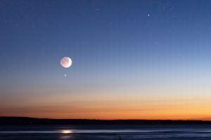 La Luna y Venus protagonizan espectacular conjunción: Su significado astrológico