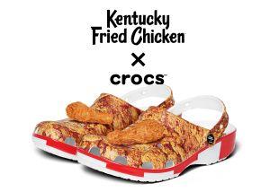 ¡Zapatos de pollo frito para la primavera! son de KFC y Crocs