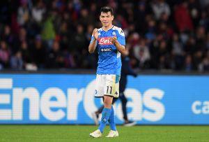 """Vendrán más oportunidades para el """"Chucky"""" Lozano en el Napoli, Gattusso ya lo confirmó"""