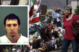 Pistolero de masacre de El Paso fue acusado de 90 delitos federales, entre ellos crímenes de odio