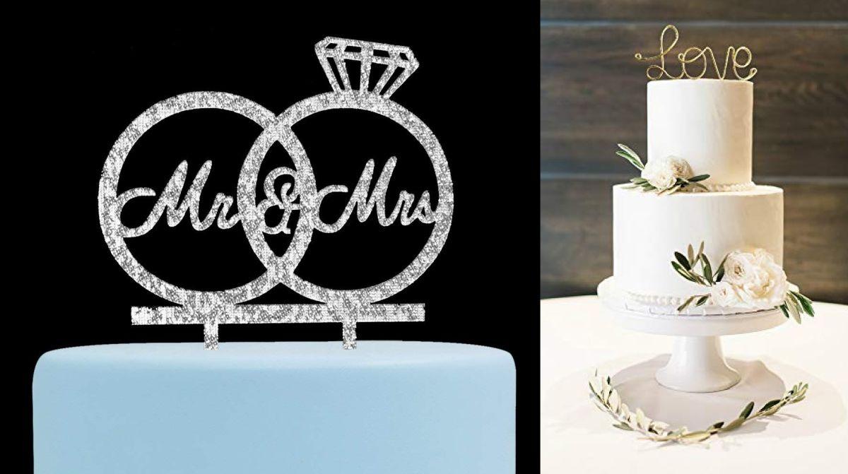 5 tipos de decoración que puedes usar para el pastel de tu boda
