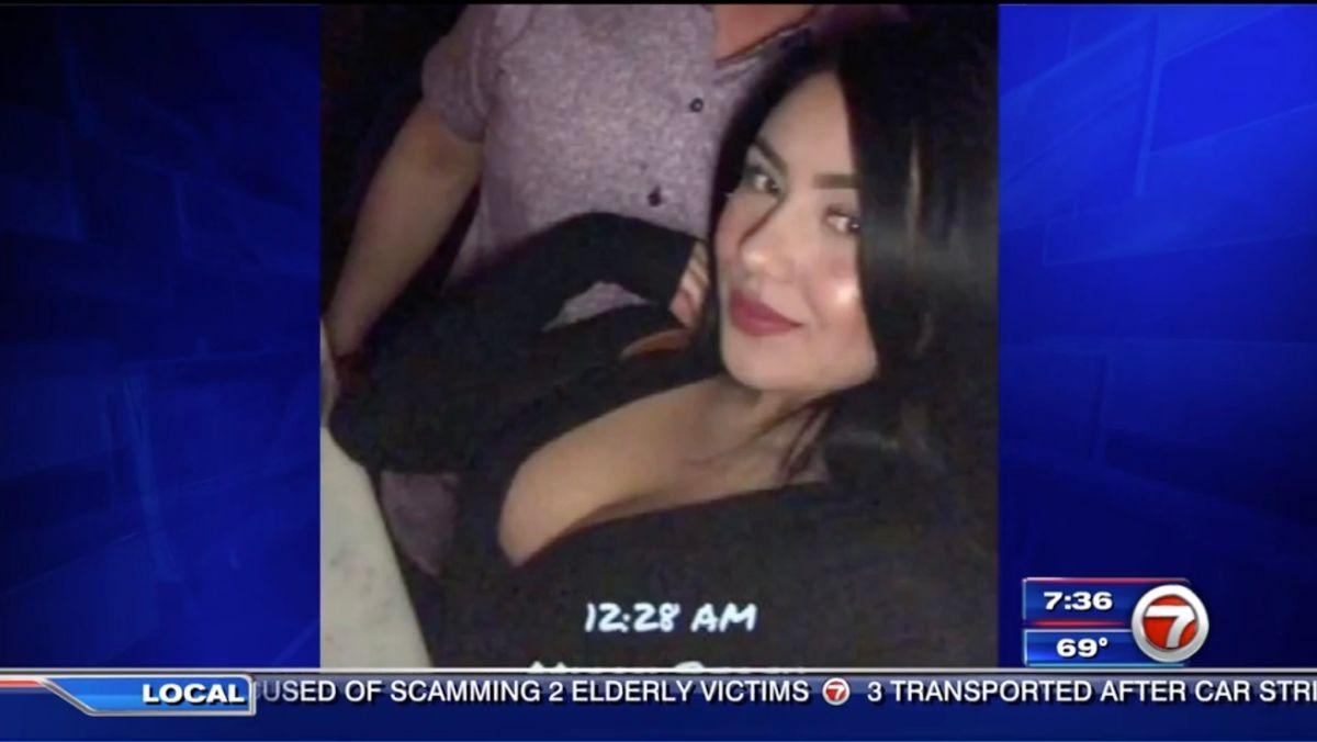 Fotografía de la mujer que supuestamente habría drogado y robado a un joven en Miami.