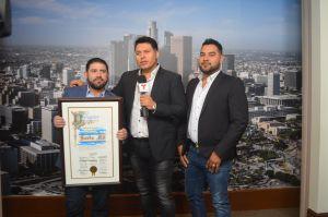 Banda MS recibe reconocimiento de parte del Concilio de Los Ángeles y no se la creen