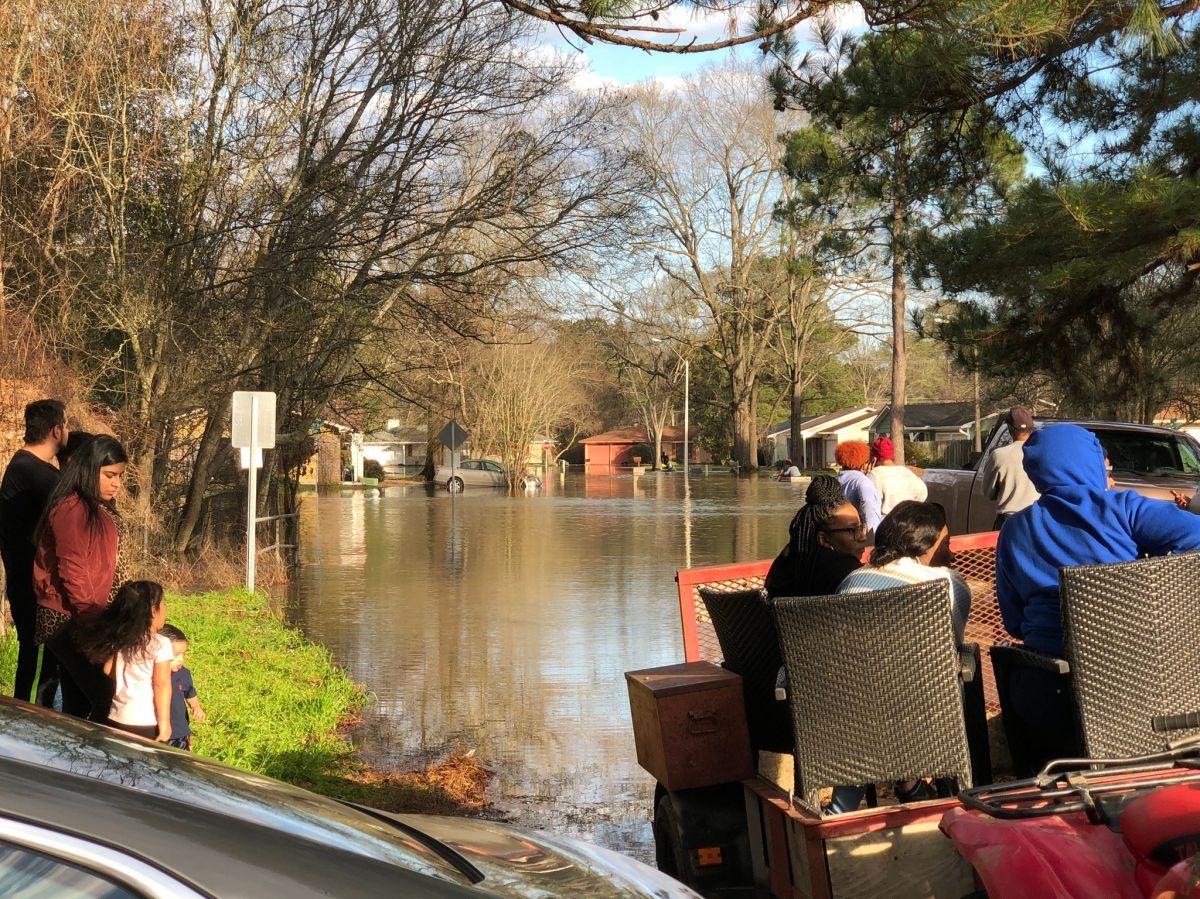 La crecida del río Pearl amenaza a miles en Mississippi.