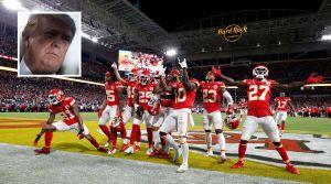Trump comete un error imperdonable al felicitar al campeón del Super Bowl