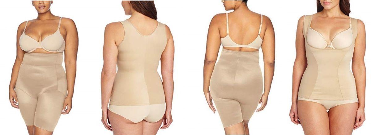 Las 5 mejores fajas que no se notan bajo la ropa para mujeres plus size