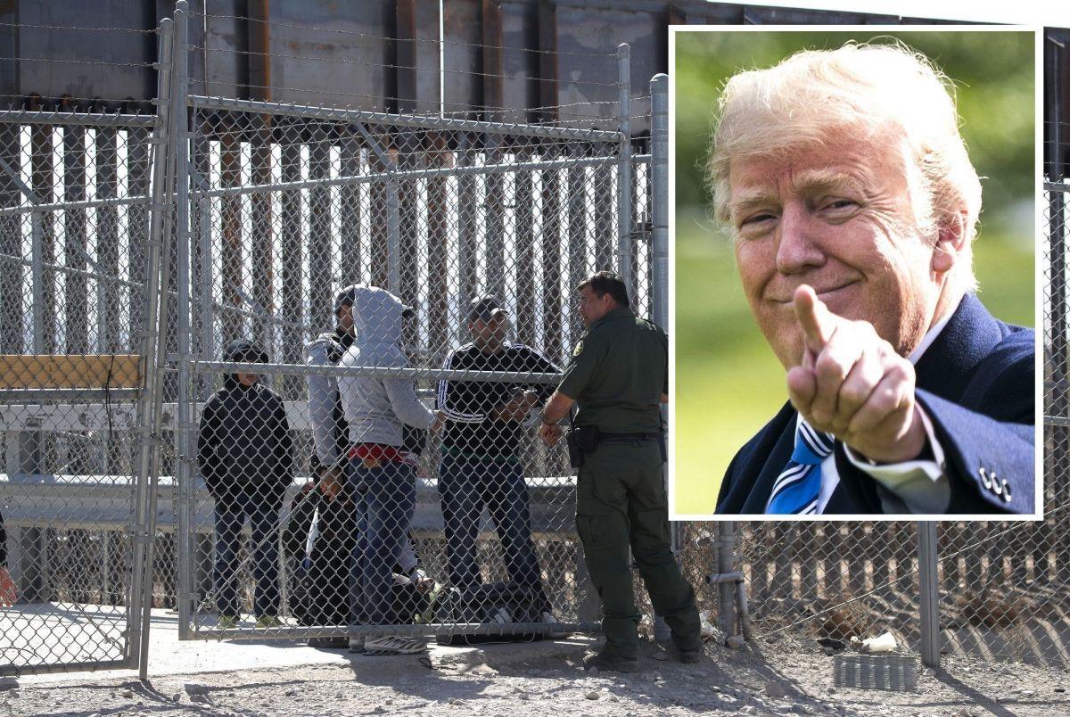 El presidente Trump endureció sus políticas migratorias.
