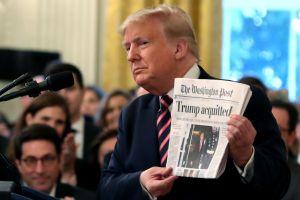 Trump despide al supervisor de inteligencia que destapó la queja que provocó el 'impeachment'