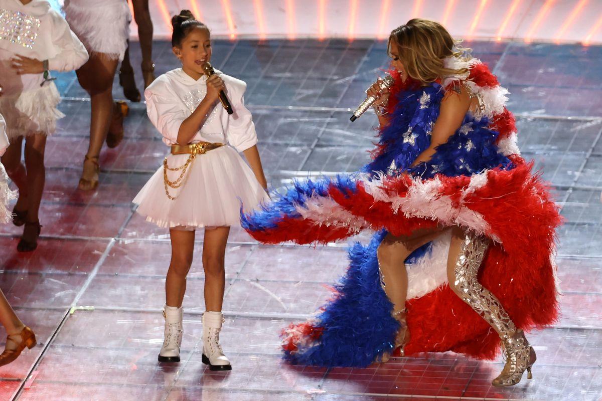 Emme y Jennifer Lopez.