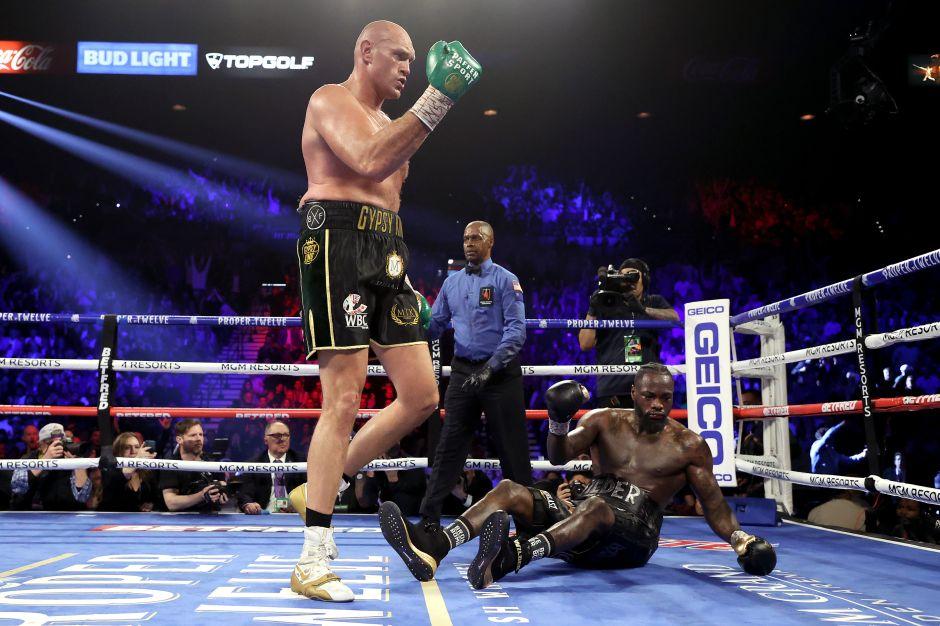 ¡Wow!, Tyson Fury se convierte en el nuevo campeón al fulminar en el séptimo asalto a Deontay Wilder