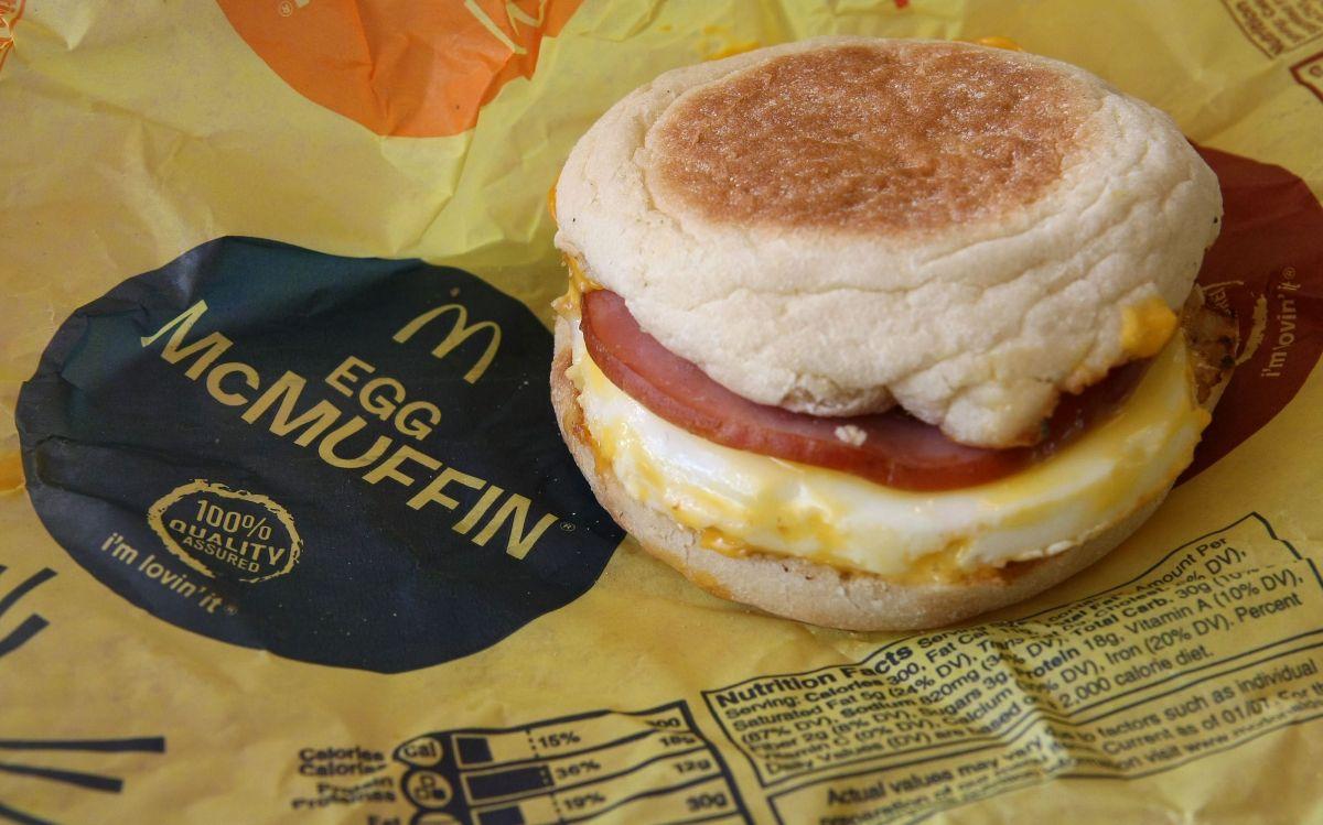 El McMuffin de huevo fue creado en 1971 en Santa Barbara, California.