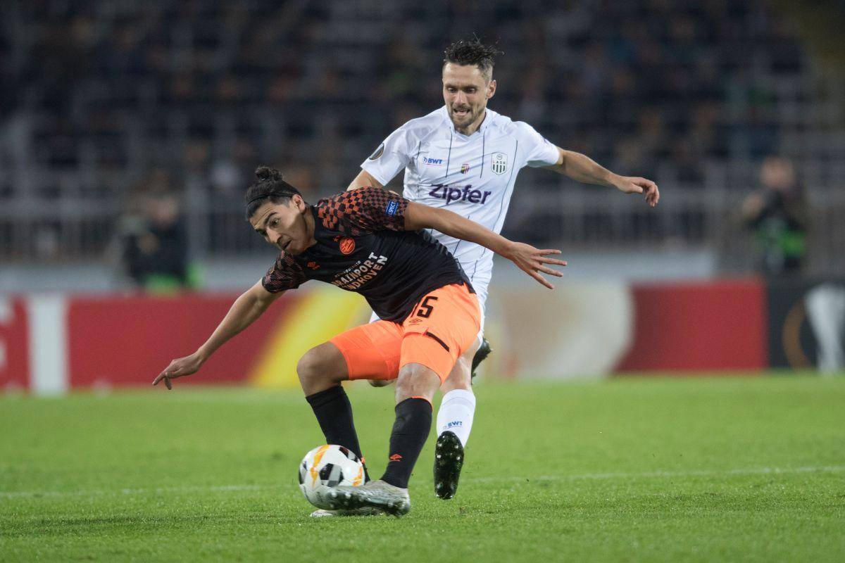 Erick Gutiérrez no ha tenido la continuidad deseada en el PSV holandés.